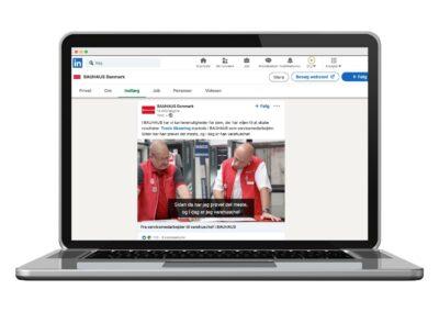 BAUHAUS satser på employer branding på LinkedIn